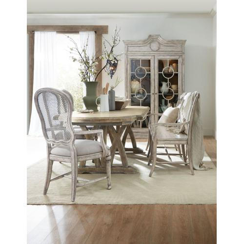 Dining Room Boheme Colibri 88in Trestle Dining Table Base