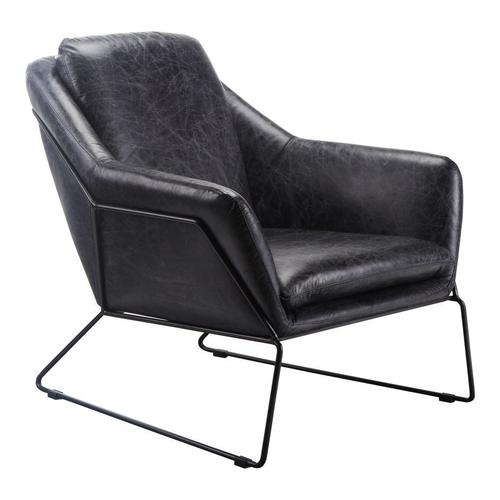 Moe's Home Collection - Greer Club Chair Black