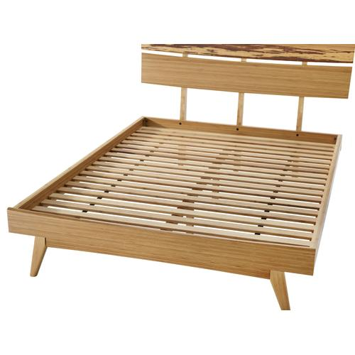 Azara Queen Platform Bed, Caramelized