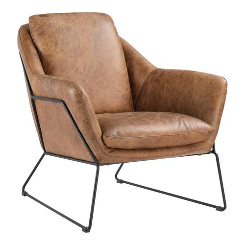 Moe's Home Collection - Greer Club Chair Cappuccino