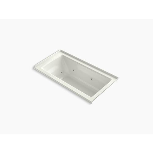 "Dune 60"" X 30"" Three-side Integral Flange Whirlpool With Heater and Right-hand Drain"