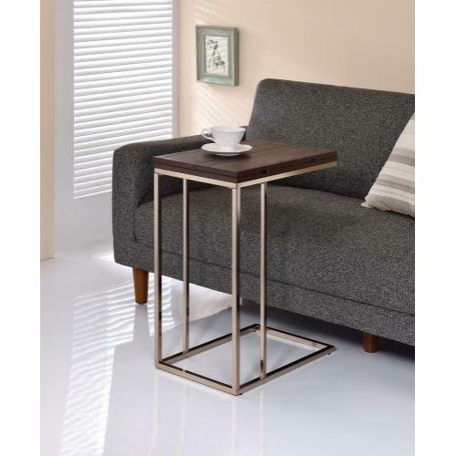 Product Image - Contemporary Chocolate Chrome and Chestnut Snack Table