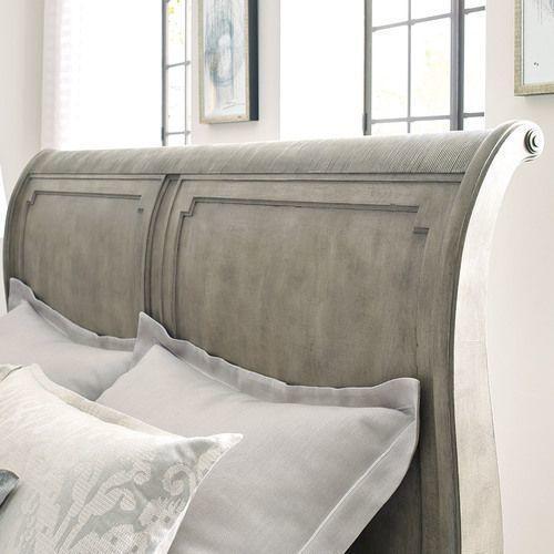 Savona King Anna Sleigh Bed 6/6 Complete