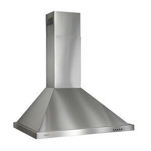 BroanBroan® 36-Inch European Style Wall-Mount Chimney Range Hood, 450 CFM, Stainless Steel