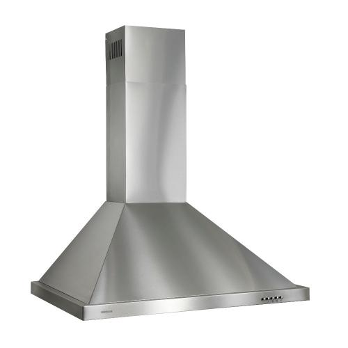 Broan® 30-Inch European Style Wall-Mount Chimney Range Hood, 450 CFM, Stainless Steel