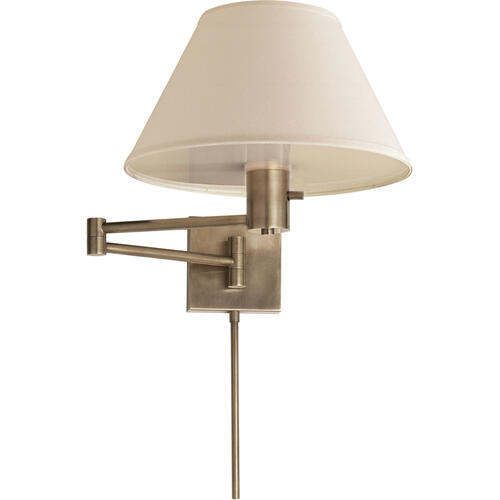 Studio Classic 25 inch 75.00 watt Antique Nickel Swing-Arm Wall Light