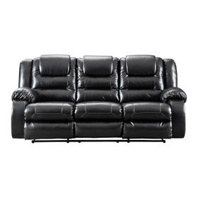 Vacherie Reclining Sofa Black