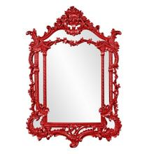 View Product - Arlington Mirror - Glossy Red