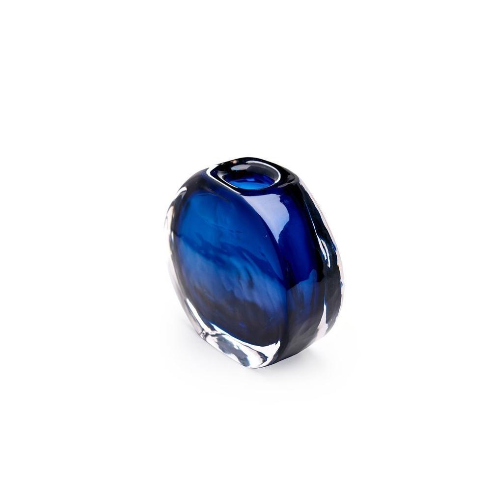 See Details - Angeli Small Vase, Midnight Blue