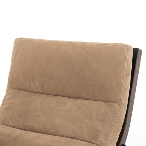 Chair + Ottoman Configuration Montana Taupe Cover Beatrice Chair + Ottoman