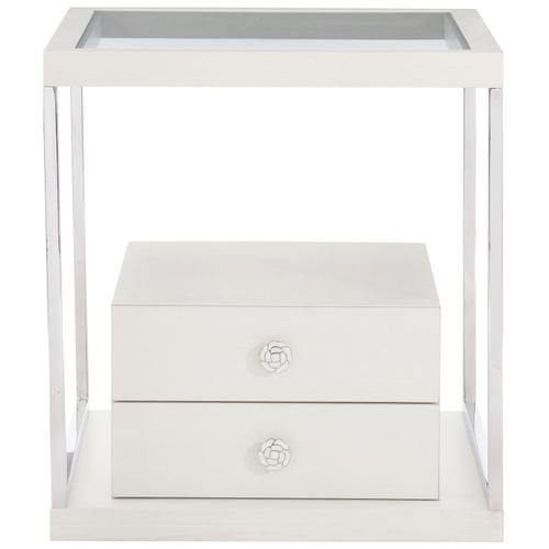 Silhouette Side Table in Eggshell (307)