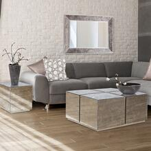 See Details - Paxton Mirrored Coffee Table
