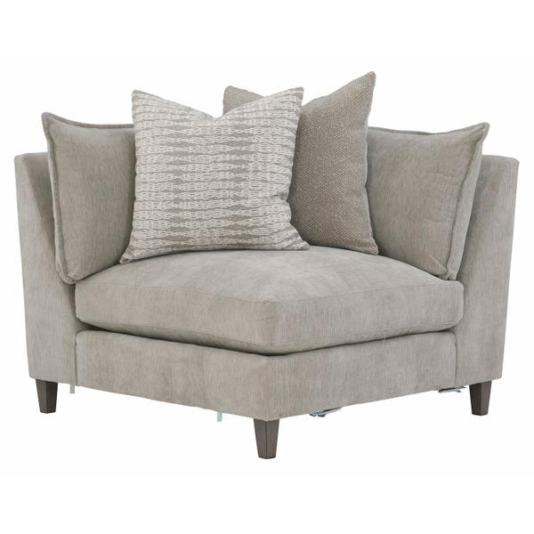 Joli Corner Chair in Aged Gray (788)