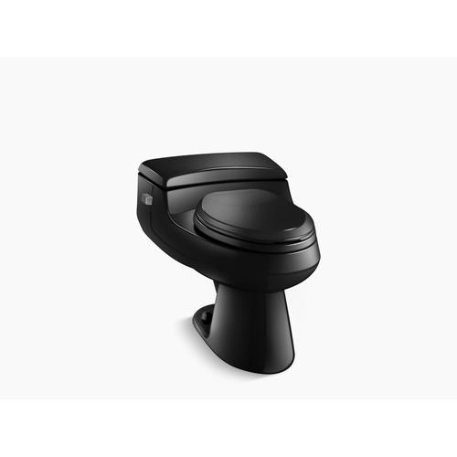 Black Black One-piece Elongated 1.0 Gpf Chair Height Toilet