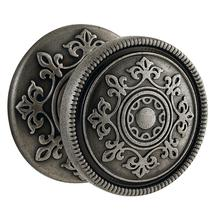 Distressed Antique Nickel K006 Estate Knob