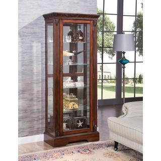 ACME Addy Curio Cabinet - 90062 - Cherry