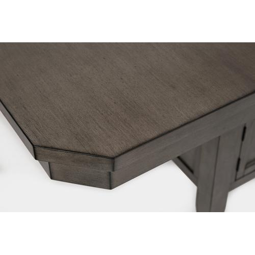 Jofran - Manchester High/low Rect Dining Table - Grey