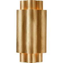 View Product - AERIN Arabelle 2 Light 6 inch Gild Sconce Wall Light, Small