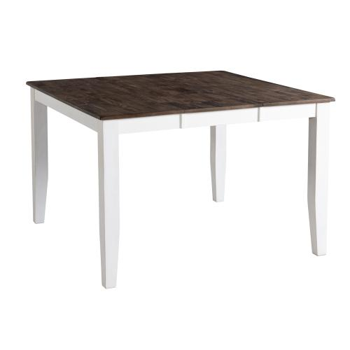 Kona Counter Table  Gray and White