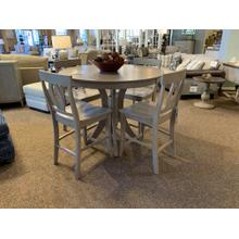 "48"" Sienna Pub Table with 4 Verona Stools"
