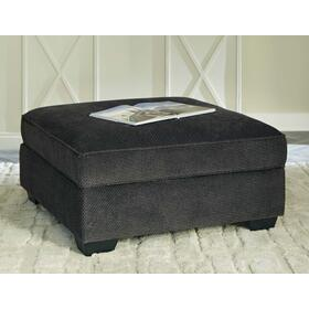 Charenton Ottoman With Storage Charcoal