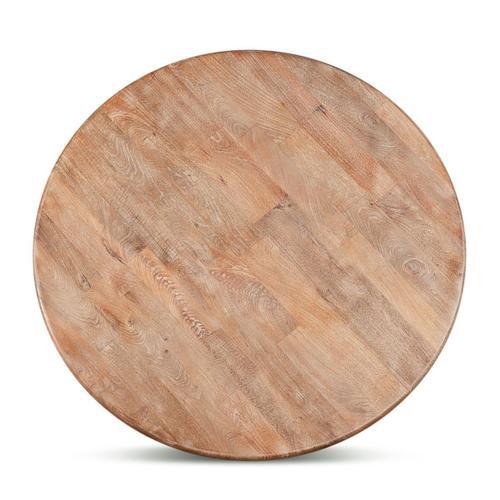 "San Rafael 54"" Round Dining Table Antique Oak"
