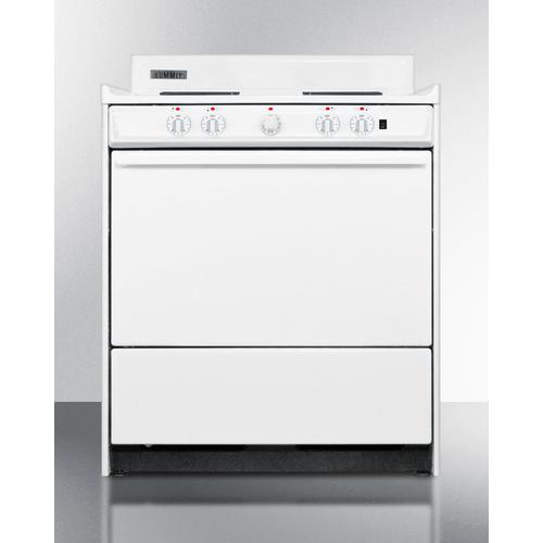 """30"""" Wide Electric Coil Top Range"""