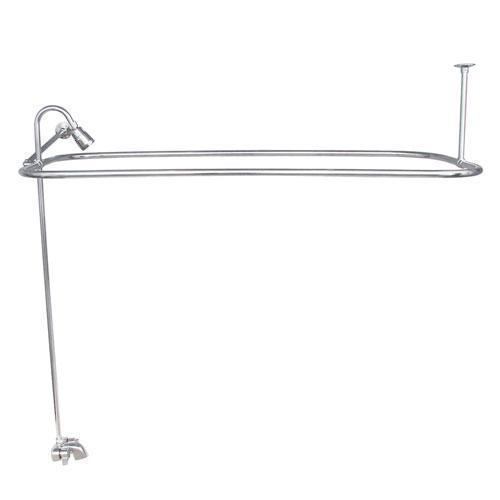 "Rectangular Shower Unit - Polished Chrome / 48"" x 24"""