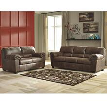 Signature Design by Ashley Bladen Living Room Set in Coffee Faux Leather