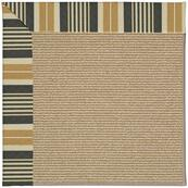 "Creative Concepts-Sisal Long Hill Ebony - Rectangle - 24"" x 36"""