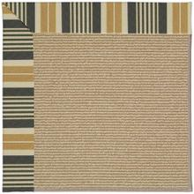 "Creative Concepts-Sisal Long Hill Ebony - Rectangle - 24"" x 36"""