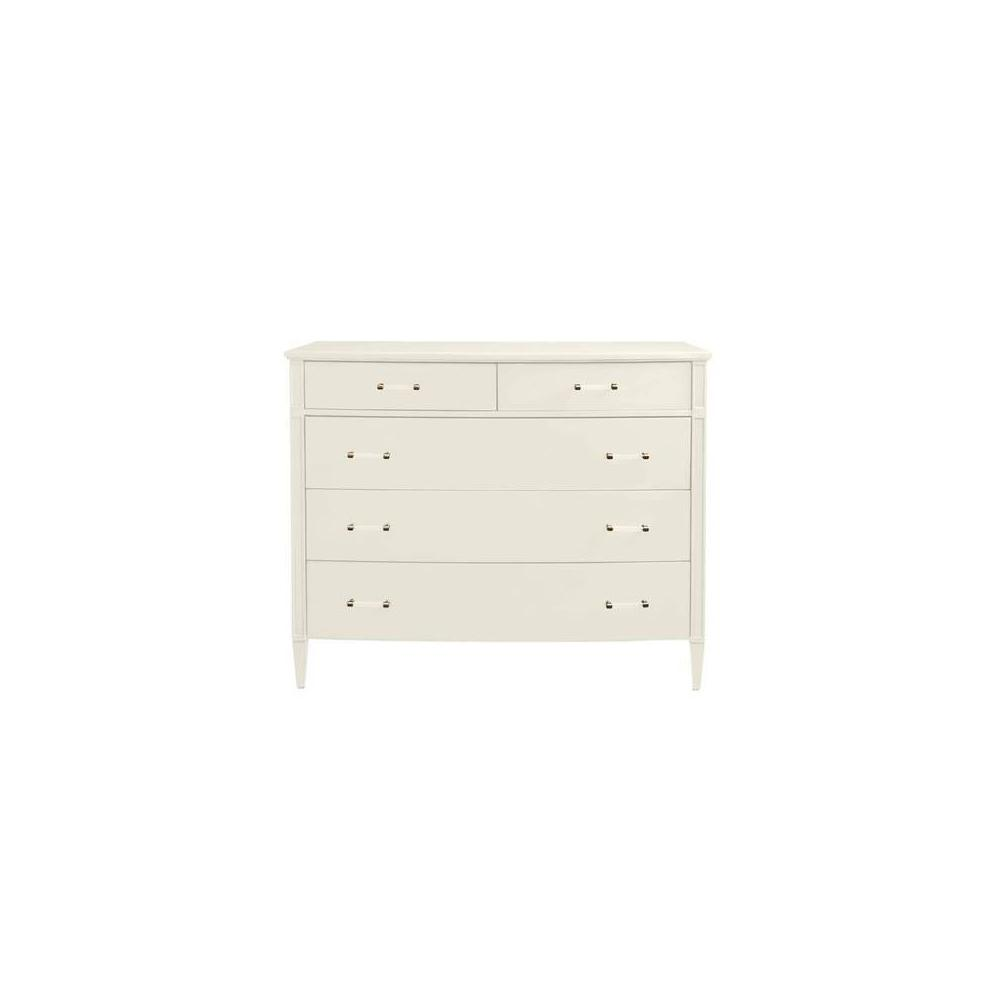 Latitude Media Chest - Saltbox White