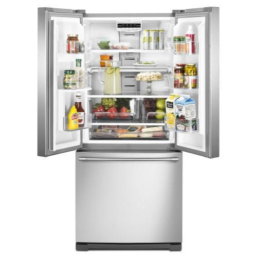 Maytag Canada - 19.6 cu ft French Door Refrigerator with Strongbox™ Door Bins
