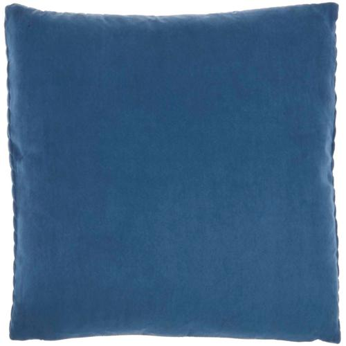 "Life Styles Et299 Blue 22"" X 22"" Throw Pillow"