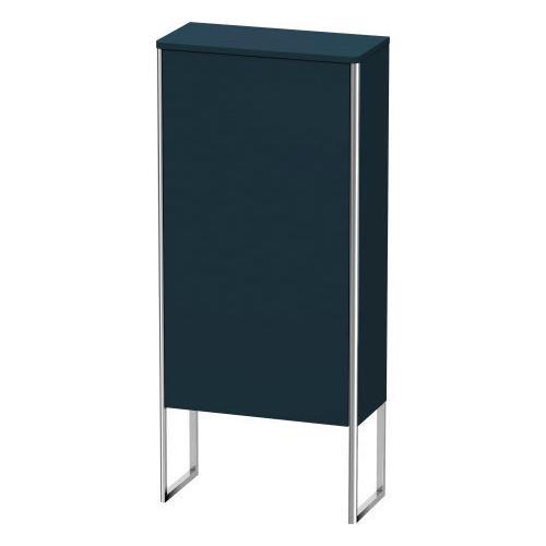 Duravit - Semi-tall Cabinet Floorstanding, Night Blue Satin Matte (lacquer)