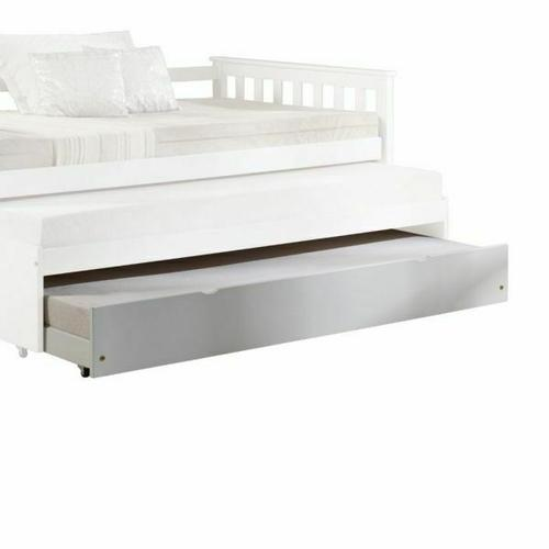 ACME Cominia Daybed - Trundle - 39083 - White