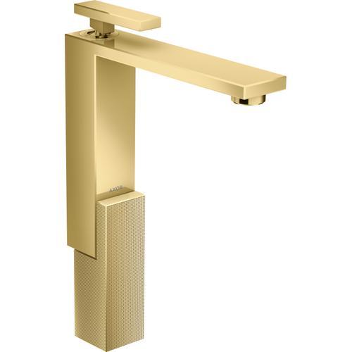AXOR - Polished Gold Optic Single-Hole Faucet 280 - Diamond Cut, 1.2 GPM
