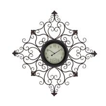 "MTL OUTDOOR WALL CLOCK 44""W, 44""H"