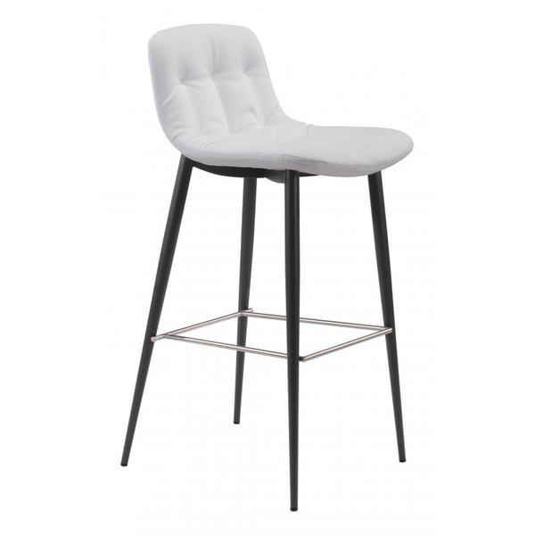 Tangiers Bar Chair White
