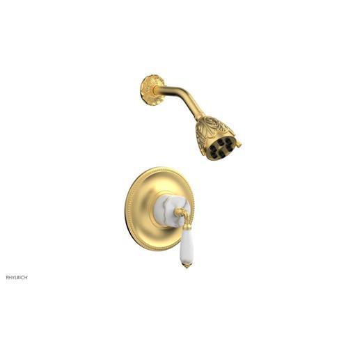 VALENCIA Pressure Balance Shower Set PB3338B - Burnished Gold