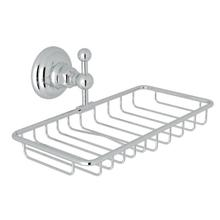 Wall Mount Double Soap Holder Basket - Polished Chrome