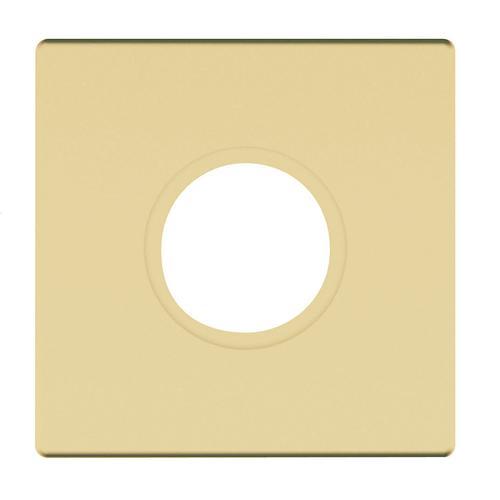 Baldwin - Satin Brass and Brown R017 Estate Rose