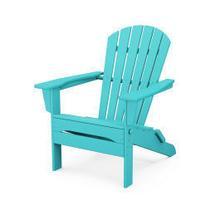 View Product - South Beach Folding Adirondack Chair in Aruba