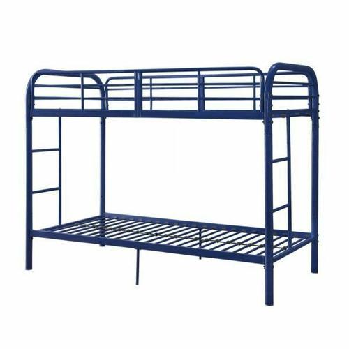 ACME Thomas Twin/Twin Bunk Bed - 02178BU - Blue