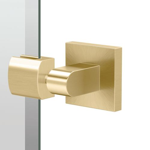 Elevate Rectangle Mirror in Brushed Brass