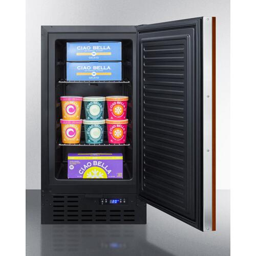 "18"" Built-in All-freezer"