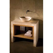 See Details - Siena Lastra Vanity Travertino Romano