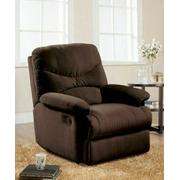 ACME Arcadia Glider Recliner - 00635 - Chocolate Microfiber Product Image