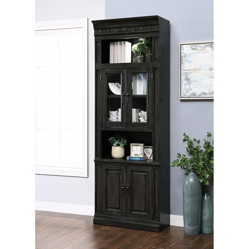 See Details - WASHINGTON HEIGHTS 32 in. Glass Door Cabinet
