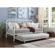 Traditional White Metal Daybed Product Image
